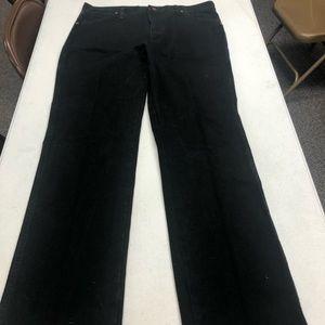 Wrangler 36x34 Straight Fit Black Jeans